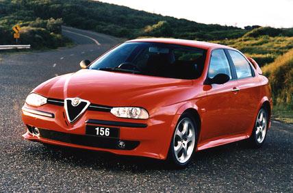 1997 Alfa 156, a big success for the company. Photo by drive.com.au