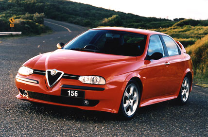 1997 Alfa 156, a big success for the company. Photo by drive.com.au