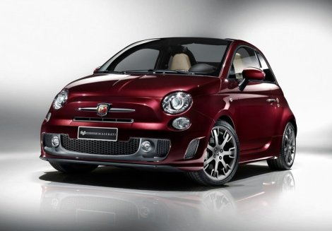 Abarth 695 Edizione Maserati. Photo by netcarshow.com