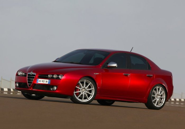 The pretty Alfa Romeo 159 that resulted in a flop for Fiat, just 10.000 units were sold wordwide in 2011
