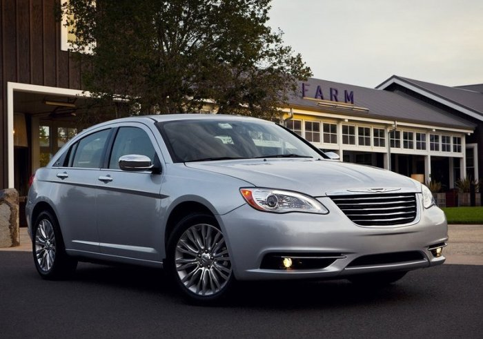 Chrysler 200: 120% of sales growth in Jan-Apr/12 in USA. Photo by netcarshow.com