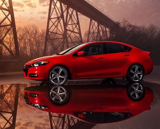The all new Dodge Dart. Photo by netcarshow.com