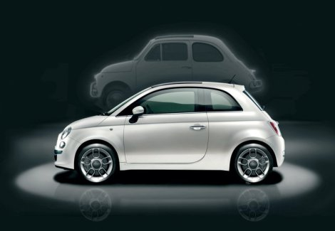 Regular Fiat 500 for Europe. Photo by netcarshow.com