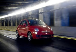 Fiat 500 for American market. Photo by netcarshow.com