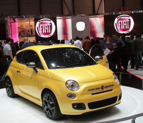 Fiat 500 by Zagato Concept in Geneva 2011