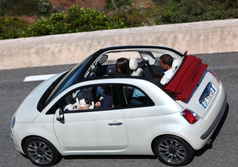 Fiat 500C. Photo by netcarshow.com