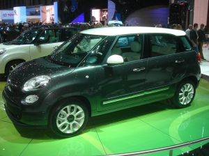 Fiat 500L, available in fall 2012