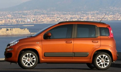 The new Fiat Panda, Europe's 'A' segment best-seller. Photo by netcarshow.com