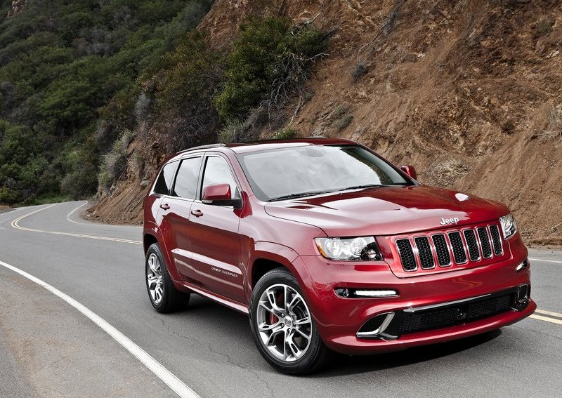 Jeep Grand Cherokee SRT8 with 465 HP. Photo by netcarshow.com