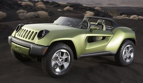 Jeep Renegade Concept. Rendering by hyundaigenesisblog.com