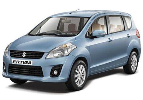Suzuki Maruti Ertiga. Suzuki's latest product in India, where they control 41% of the market