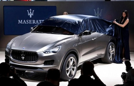 Maserati Kubang Concept. Photo by Next Auto Show