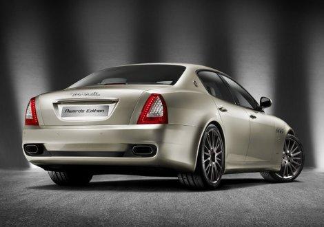 Maserati Quattroporte Sport GT Awards Edition. Photo by netcarshow.com