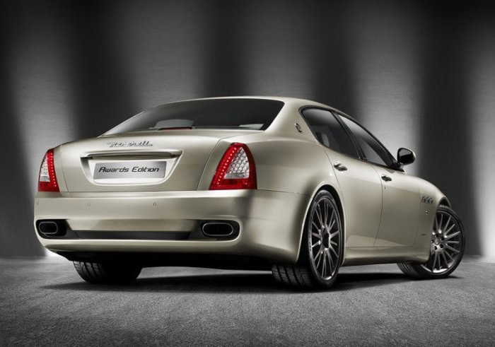 Maserati Quattroporte Sport GT Awards Edition. Photo by netcarshow.com