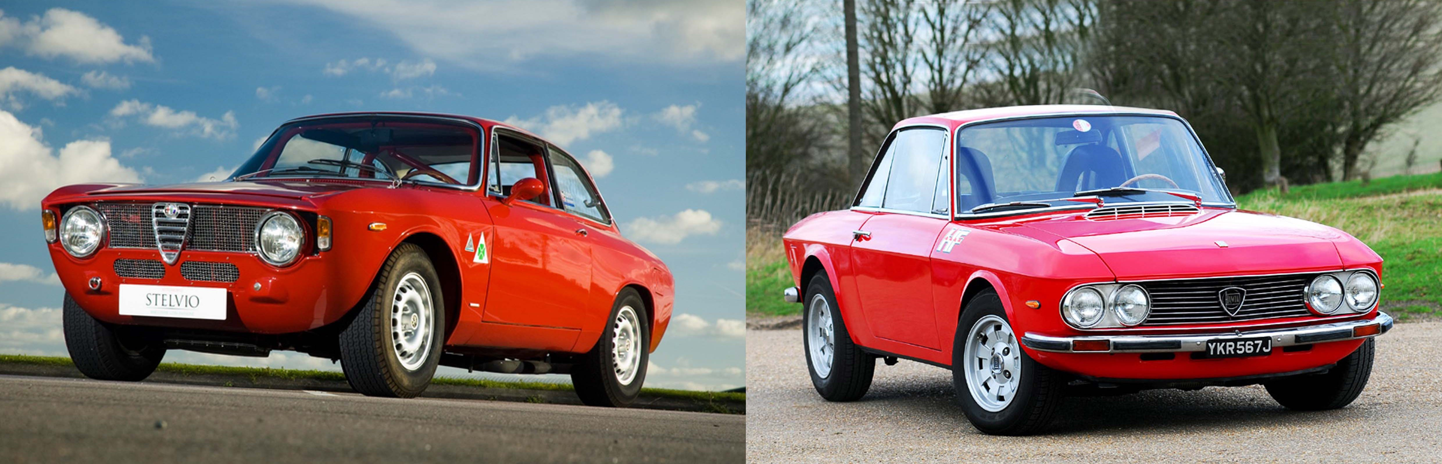 ever wonder how alfa romeo and lancia went from being fierce rivals