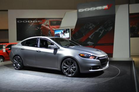 Dodge Dart in Los Angeles Motor Show 2012
