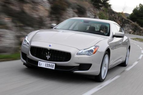 Maserati wants to sell 13.000 units of its new flagship next year. Photo by: Autopareri.com