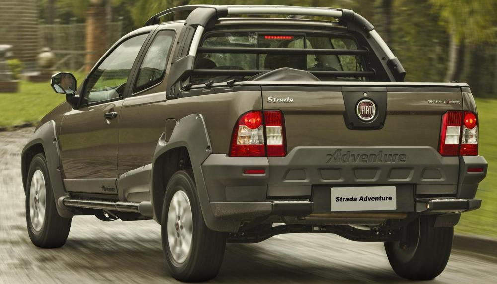 The Strada allowed Fiat to get a market share of 48% of small pickups in Brazil last year.