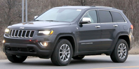 Spy shots of 2013 Jeep Grand Cherokee