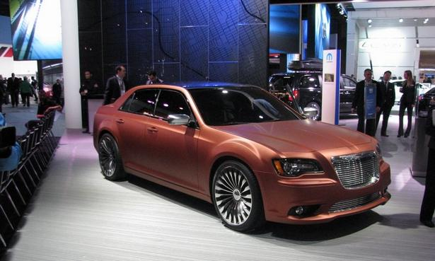Chrysler 300S Turbine Concept. A homage to the 50th anniversary of the brand.