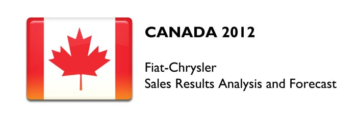 Canada Fiat Chrysler Results 2012