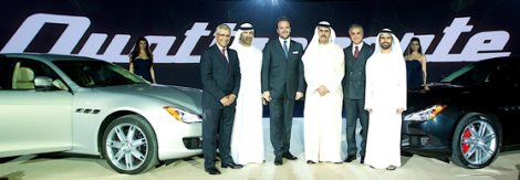 2013 Maserati Quattroporte Presentation in UAE. Photo by: Emirates 247
