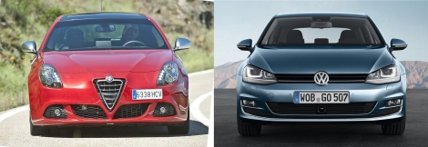 Alfa Giulietta vs VW Golf 4