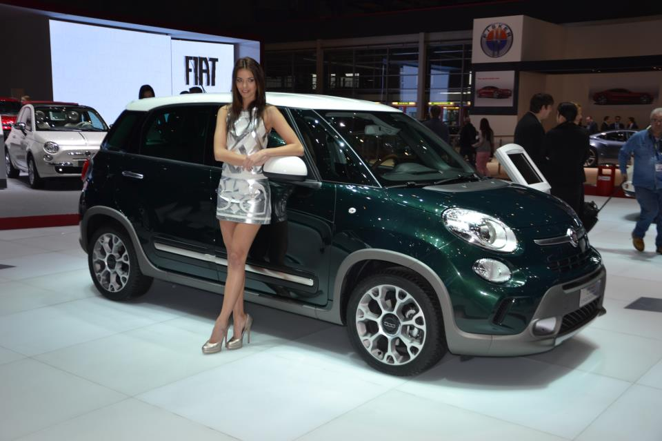 The Trekking version for the Fiat 500L