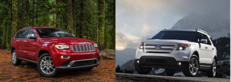 Jeep Grand Cherokee vs Ford Explorer 2