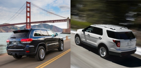 Jeep Grand Cherokee vs Ford Explorer 3