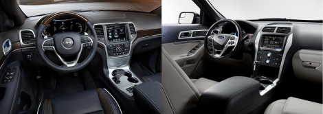 Jeep Grand Cherokee vs Ford Explorer 4
