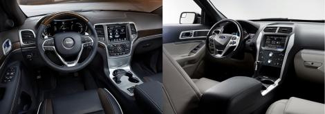 Jeep Grand Cherokee vs Ford Explorer 4