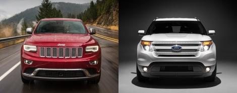 Jeep Grand Cherokee vs Ford Explorer 5