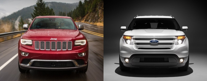Jeep Grand Cherokee vs Ford Explorer 5