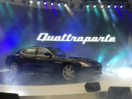 Presentation of Maserati Quattroporte 2013 in China. Photo by: Car News China
