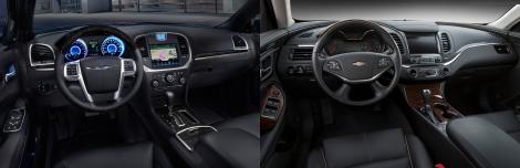 Chrysler 300 vs Chevy Impala 6