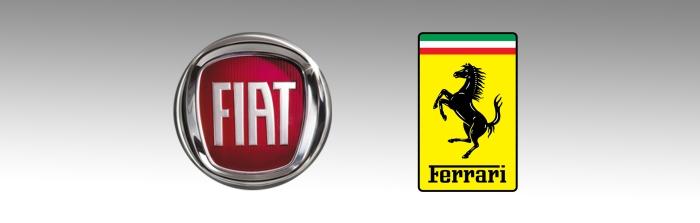 Fiat and Ferrari