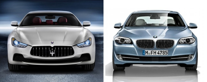 Ghibli vs 5-Series 2