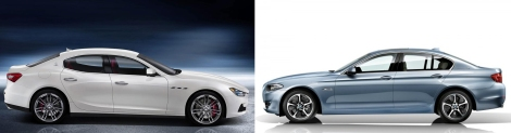 Ghibli vs 5-Series 3
