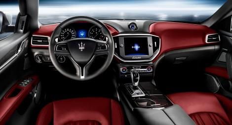 Maserati Ghibli's interior