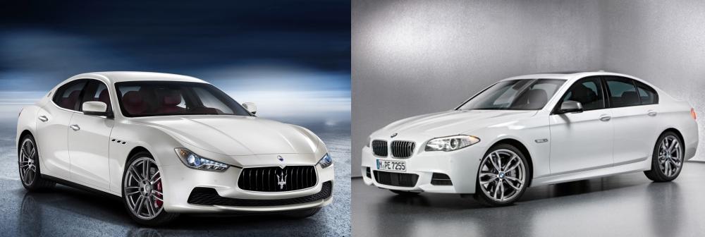 Maserati Ghibli vs BMW 5-Series