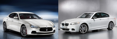 Maserati Ghibli vs BMW 5-Series
