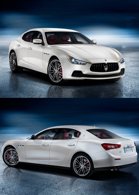The all-new Maserati Ghibli. Its world debut will take place in Shanghai Auto Show 20th April. Click here for updates