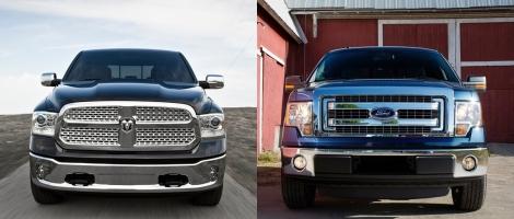 Ram 1500 vs Ford F150 3