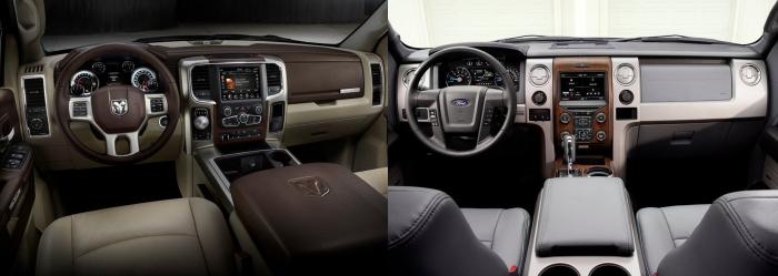 Ram 1500 vs Ford F150 4