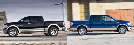 Ram 1500 vs Ford F150