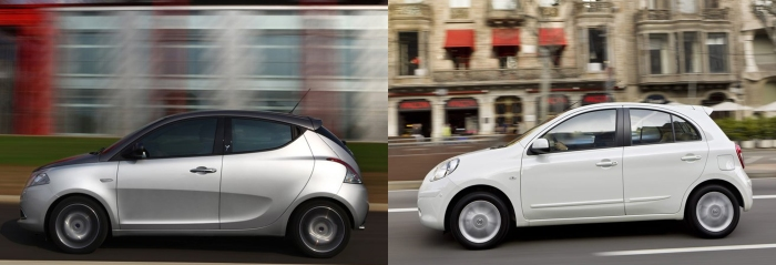 Ypsilon vs Micra 4