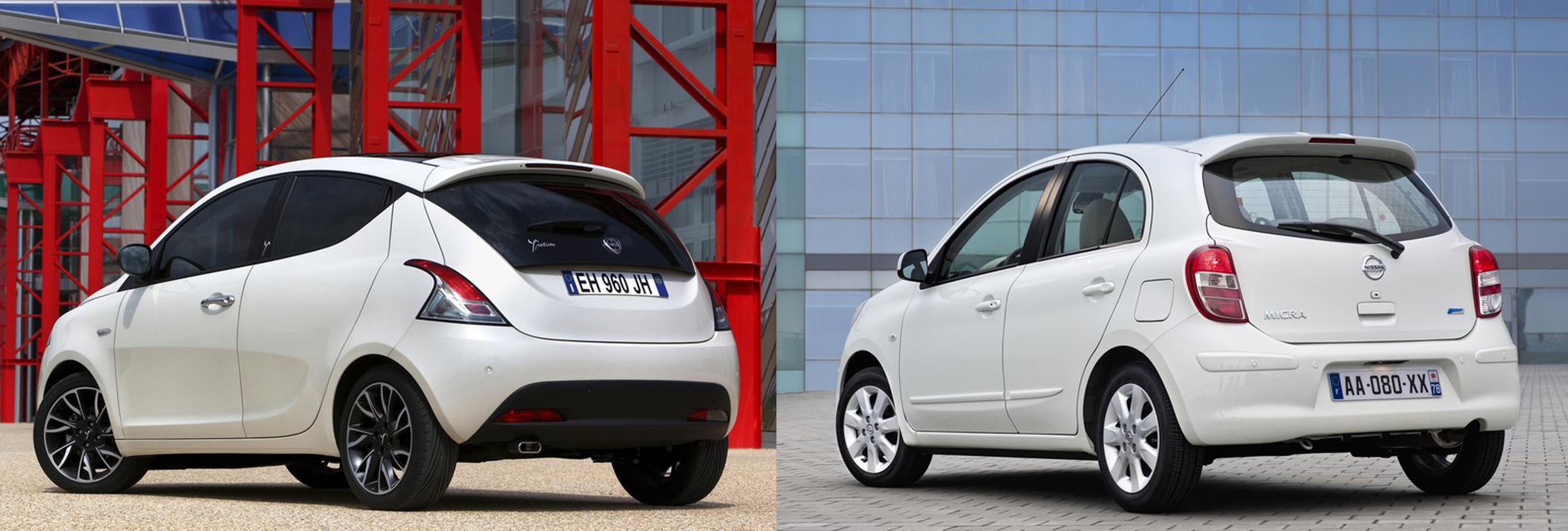 Lancia Ypsilon Or Nissan Micra Fiat Group S World