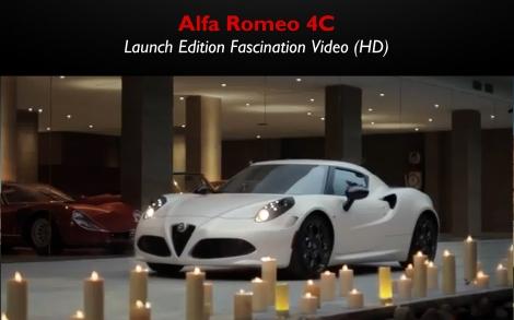 Alfa Romeo 4C Fascination Video
