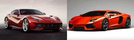 Ferrari vs Lamborghini 1